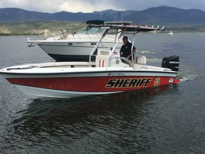 Grand County Sheriff Boat